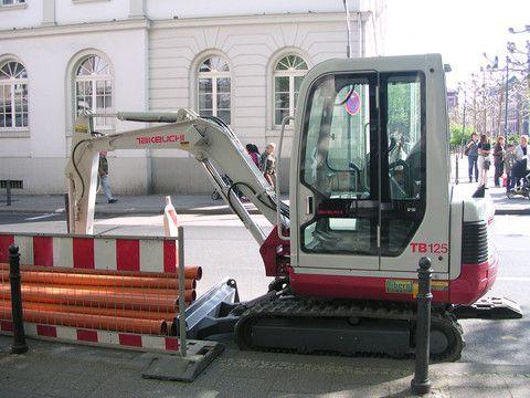takeuchi tb175 compact excavator parts manual download serial no 17530001