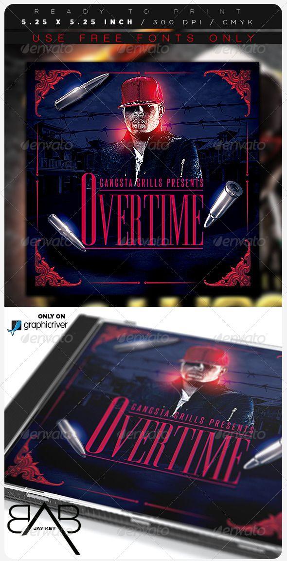 Hip Hop Music Album Template — Photoshop PSD #dance #rapper ...