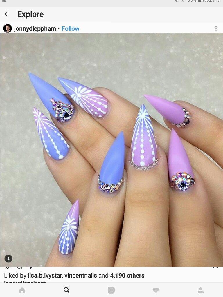 Pin de Valeria Di Biaso en Nails | Pinterest | Diseños de uñas, Uñas ...