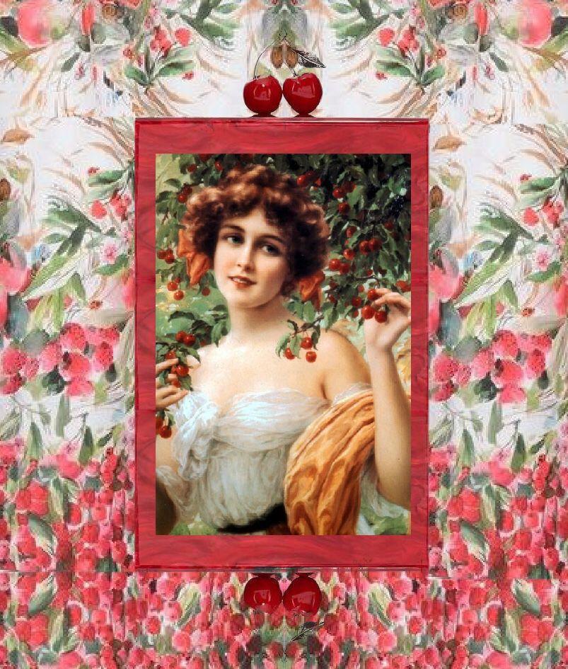 The cherry Lady