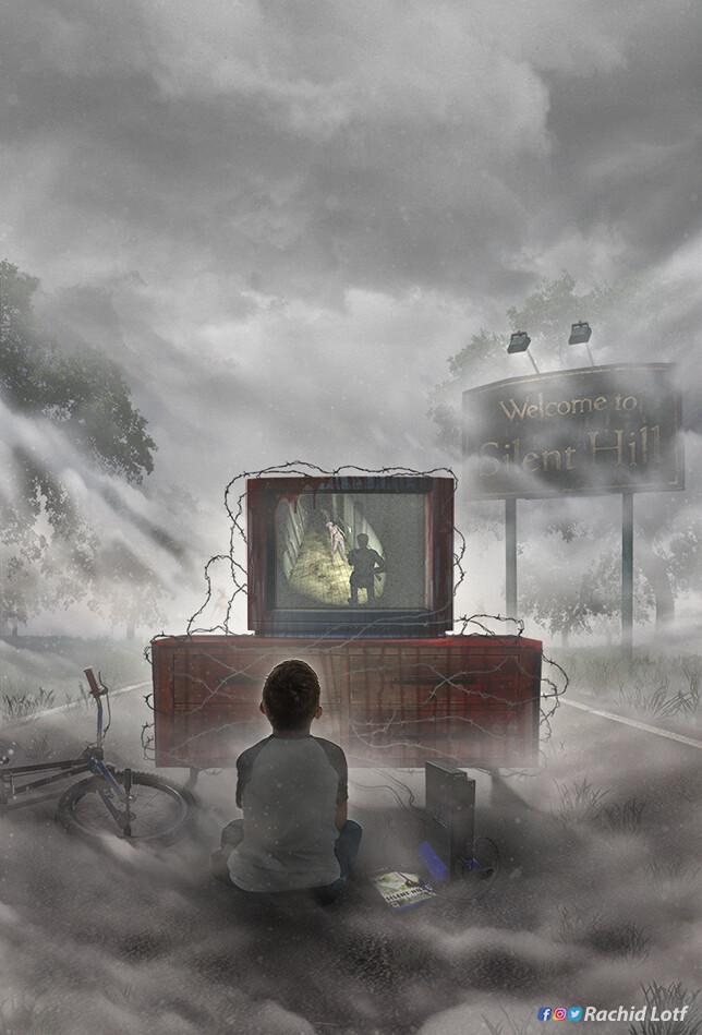 Artstation Playstation 2 Silent Hill 2 Rachid Lotf Silent Hill 2 Silent Hill Art Silent Hill Nurse