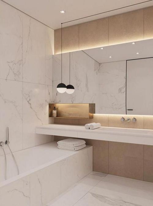 Modernes Licht Im Badezimmer Viele Kreative Ideen Die Ihnen Auf