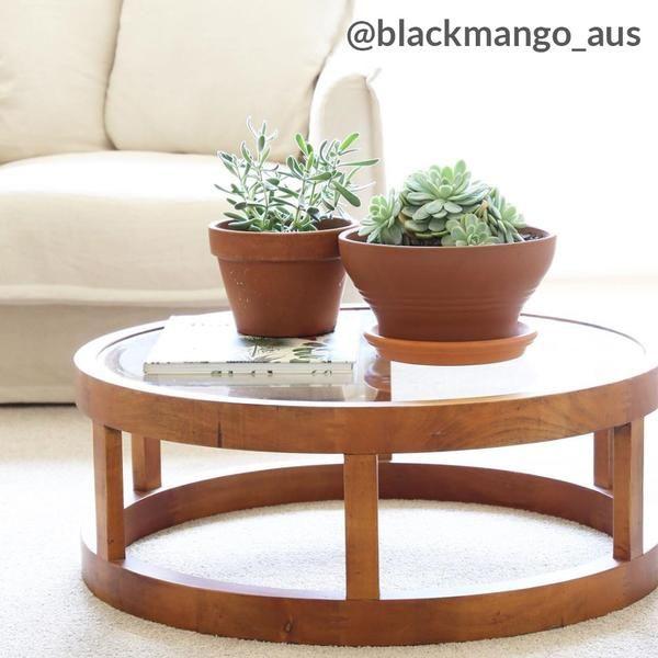 Arlo Coffee Table Black Mango Table Coffee Table Contemporary Living Spaces