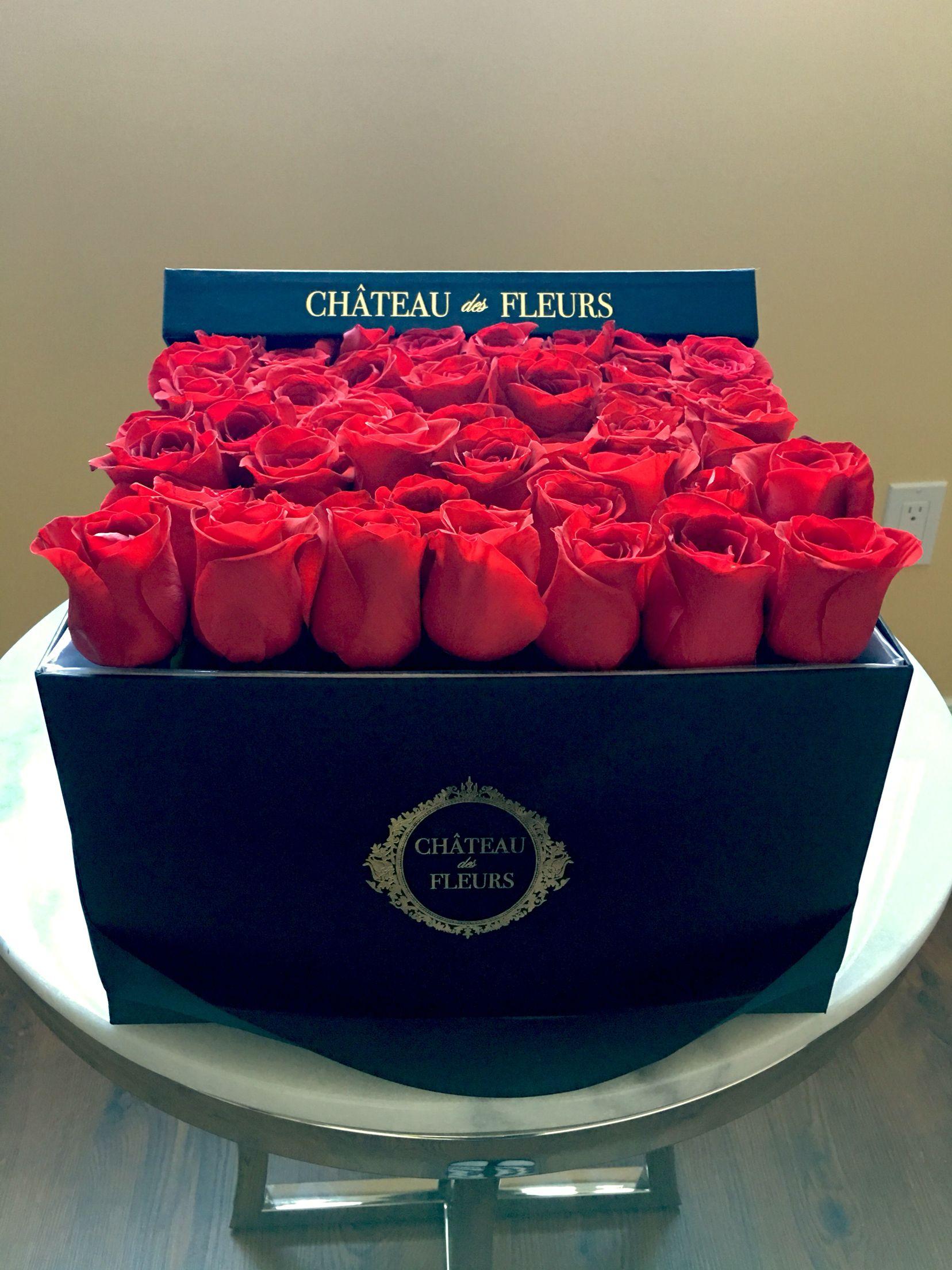 signature black box ❤ chateau des fleurs. rose collection