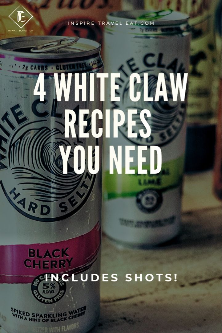 how many white claws to be drunk