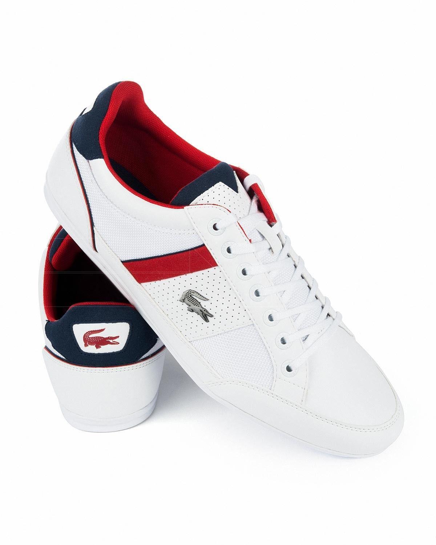 fd2c6cfb0c3 Zapatillas LACOSTE ® Blancas ✶ Chaymon | ENVÍO GRATIS Lacoste Tenis Hombre,  Lacoste Para Hombres
