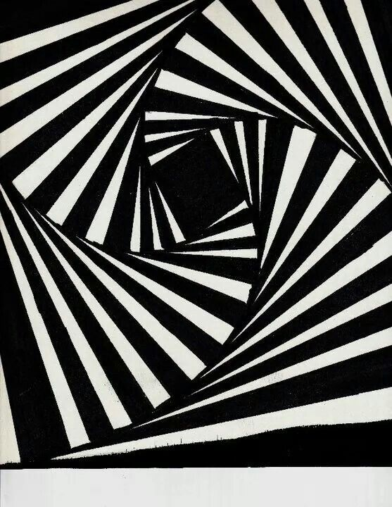 Optical Illusion No Curved Lines Optical Illusions Illusions