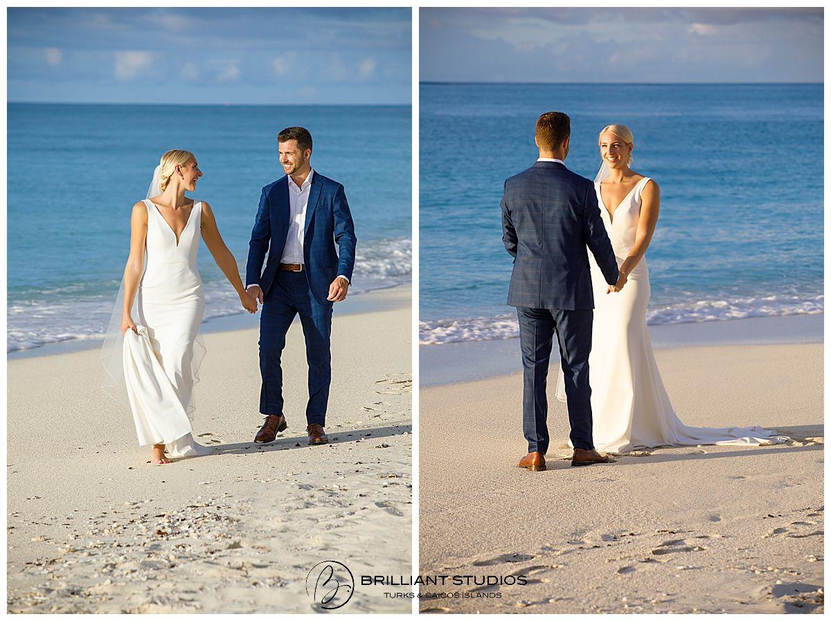 Beach Wedding Turks And Caicos Islands In 2020 Turks And Caicos Wedding Photography Grace Bay Beach