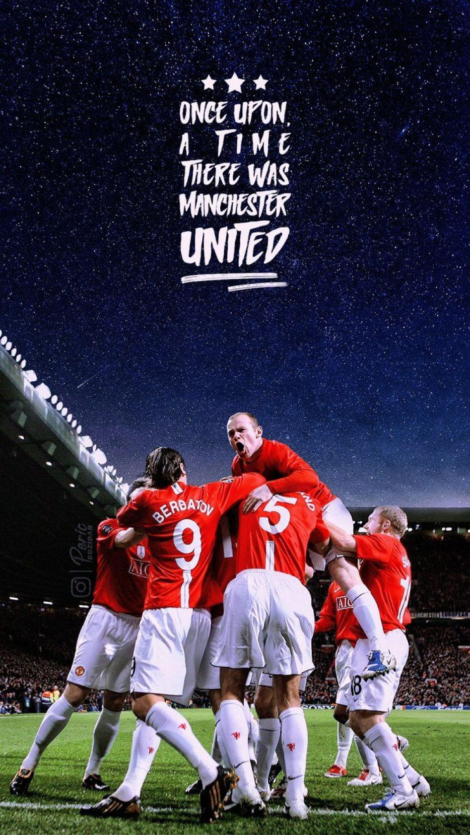 Never Write Off Manchester United Manchester United Wallpaper Manchester United Team Manchester United