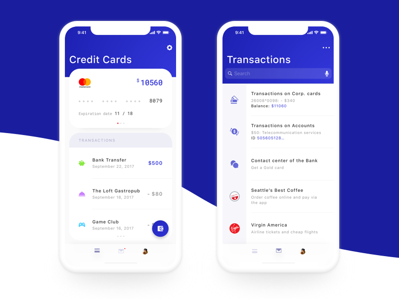 Mobile Banking Application App design, Ux design, Ux