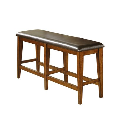 Loon Peak Nashoba Upholstered Bench Wayfair In 2020 Tall Dining Table Counter Height Dining Table Dining Benches