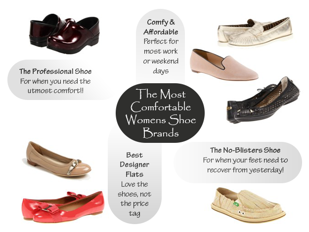 Most Comfortable Womens Shoes | The Blog | Pinterest | Flat shoes ...