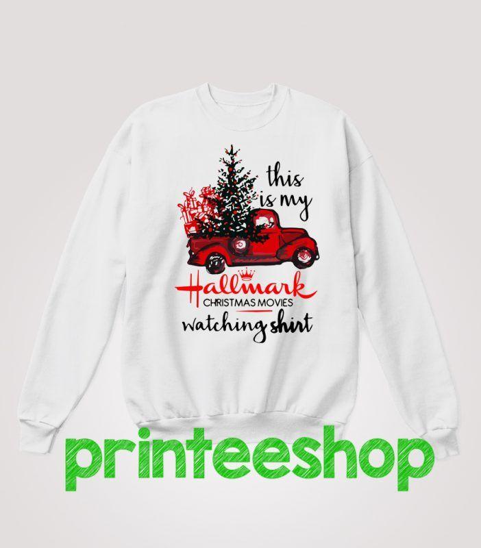 Hallmark Christmas Movie Sweatshirt | Hallmark christmas, Christmas movies, Hallmark christmas ...