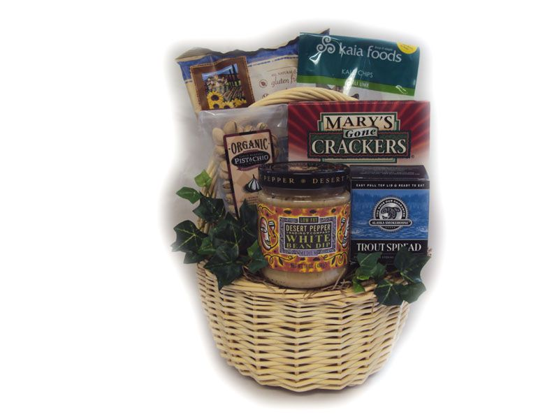 (Low) Sugar Daddy Healthy Father's Day Gift Basket for diabetic dad