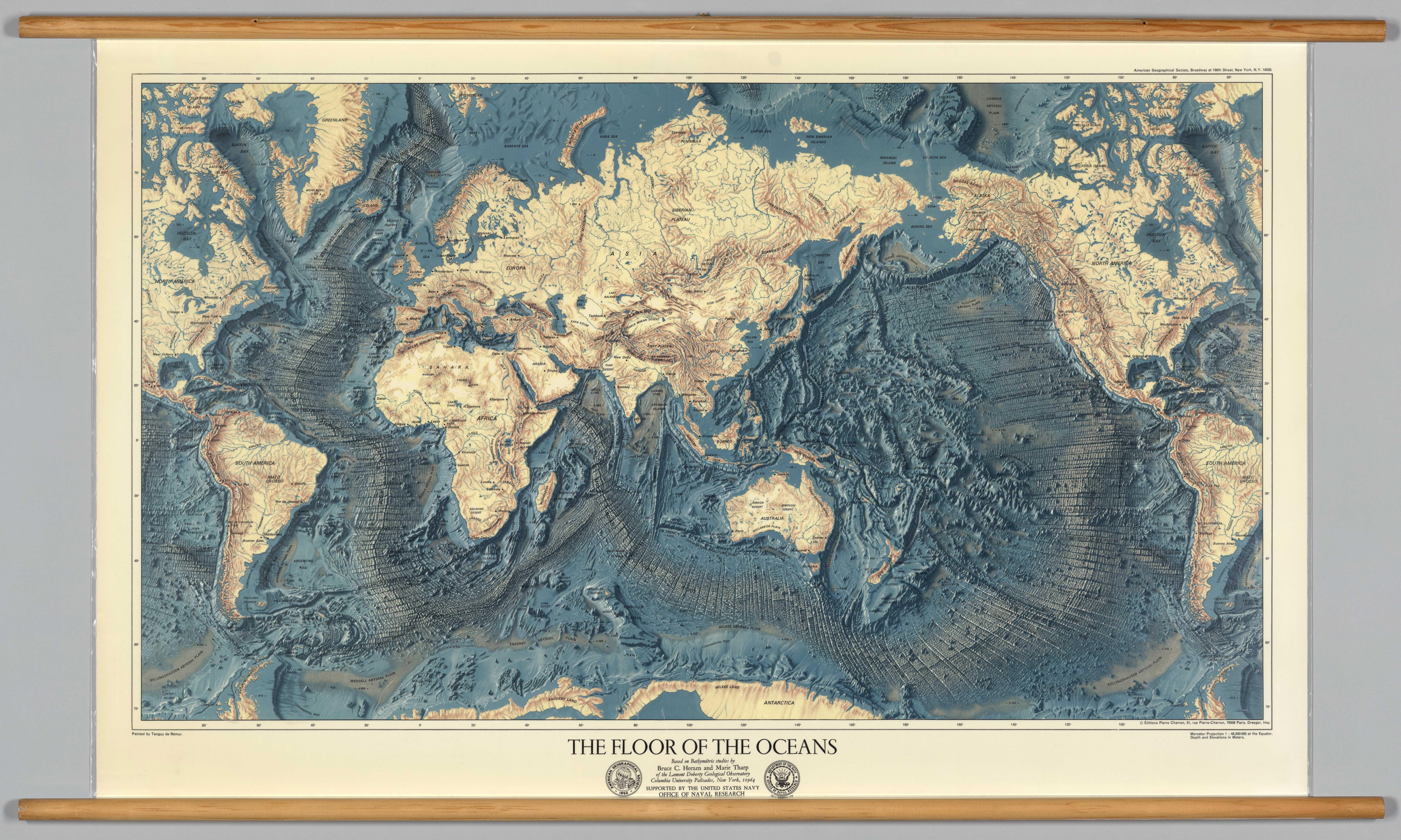 The Floor Of The Oceans