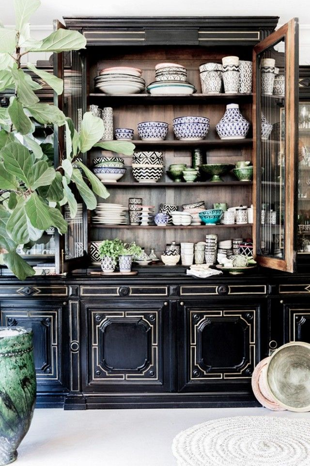 Tour a Swedish Home With a Relaxed Bohemian Feel   Vintage china ...