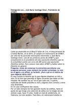 Dialogando con… José María Santiago Giner, Presidente de AFINET.