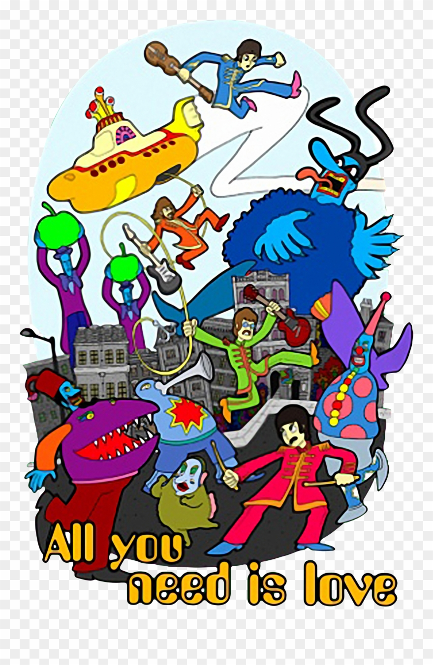 Beatles Yellow Submarine Blue Meanies Clipart 1546494 Is A Creative Clipart Download The Transparent C Yellow Submarine Art Beatles Yellow Yellow Submarine