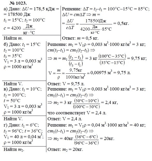 решебник по физике для 7 класса лукашик иванова сборник задач