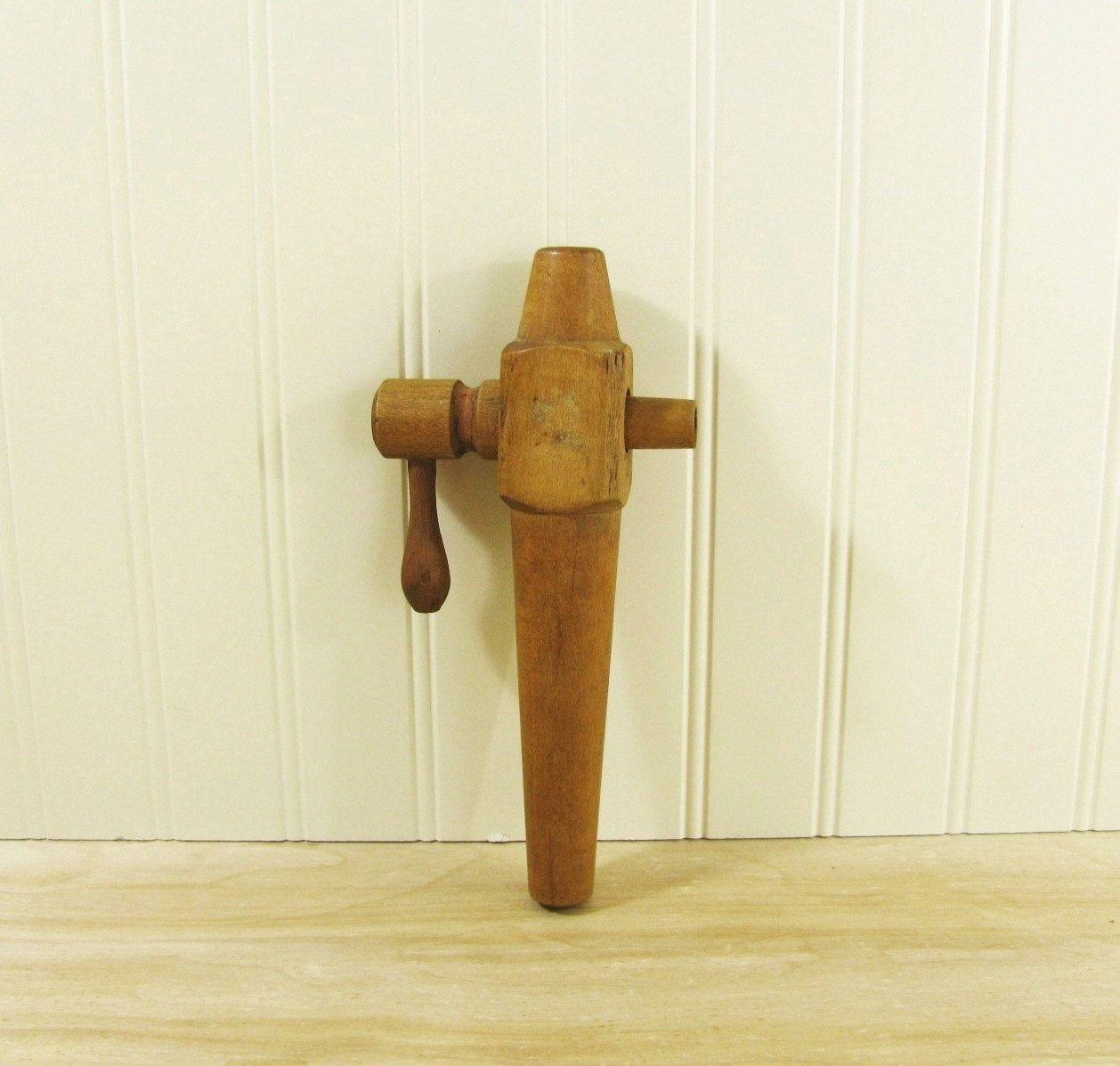 Vintage Wooden Spigot Wooden Tap Antique Spigot Primitive Decor ...