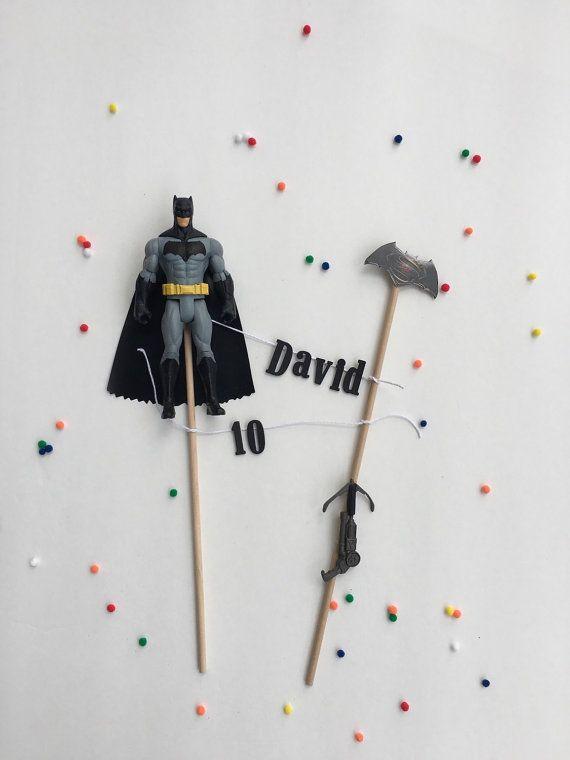 Batman Cake Topper Birthday Party Banner