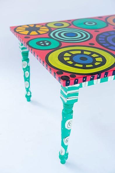Eclectic Artwork, Adirondack Chairs  Revamped Furniture Alabama