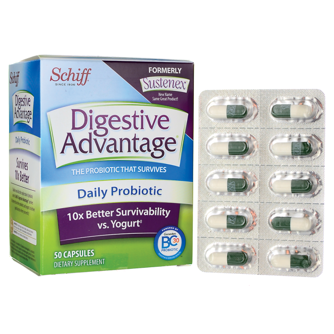 digestive advantage daily probiotic 50 caps sexual health sleep