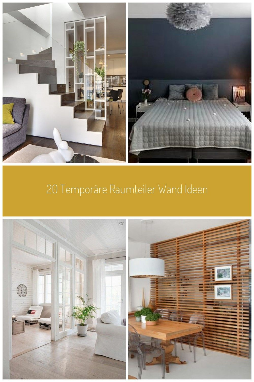 20 Temporare Raumteiler Wand Ideen Roomdivider Esszimmer
