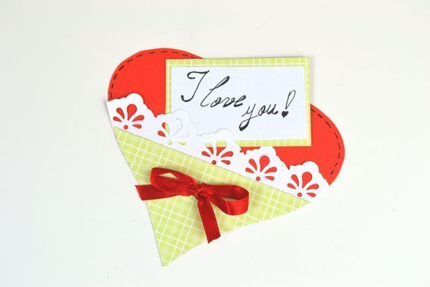 Easy Paper Heart – Last Minute Gift Cards for Valentine's day — CraftBits.com