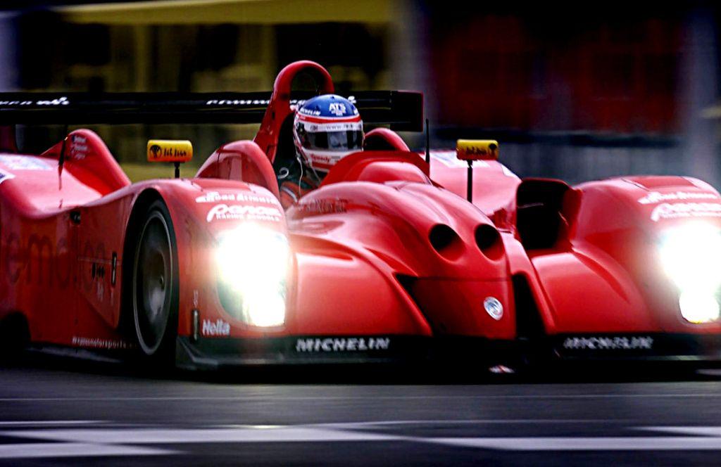 Panoz Lmp07 Sports Car Racing Road Race Car 24 Hours Le Mans