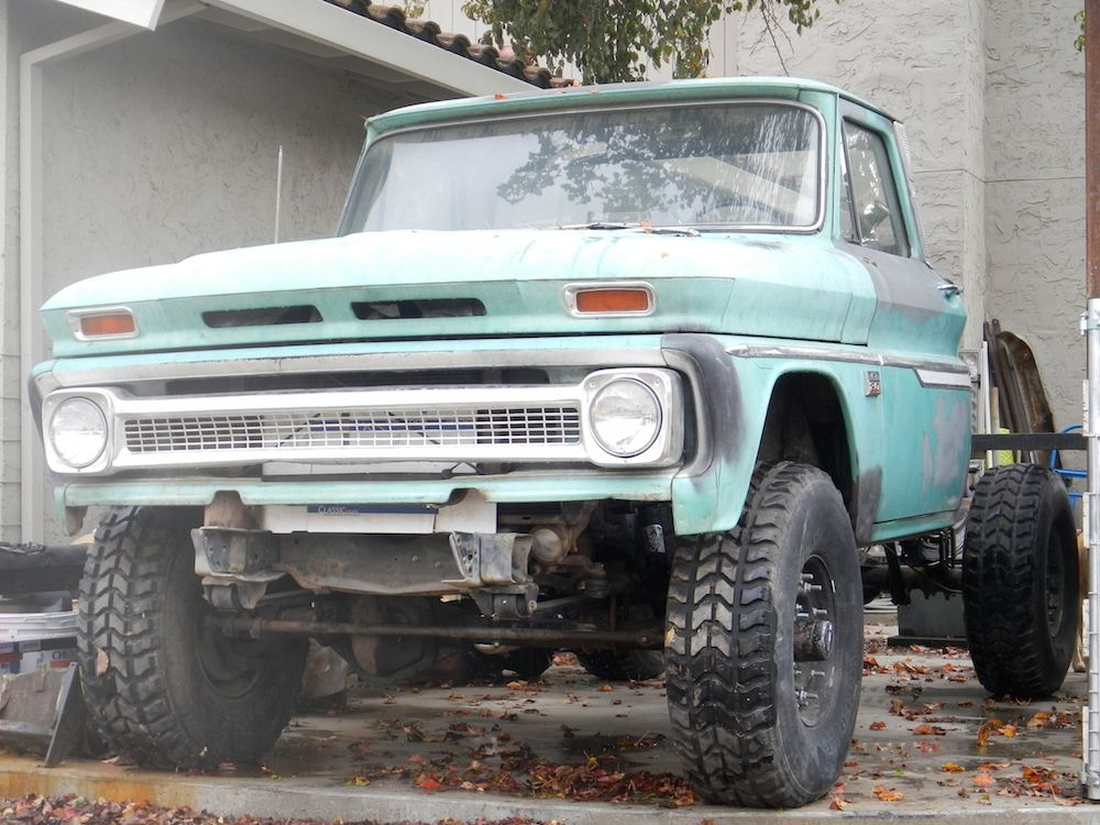 reworking Blackmore\'s old worktruck - Page 3 - Pirate4x4.Com : 4x4 ...
