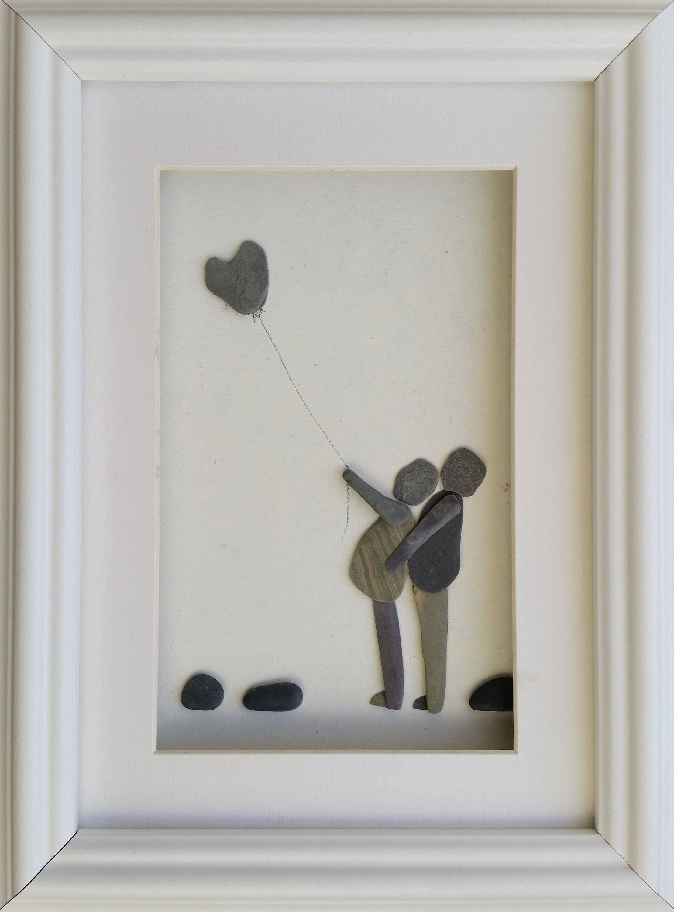 Pebble Family, Pebble Pictures, Pebble Art, Cornish Pebble Art ...