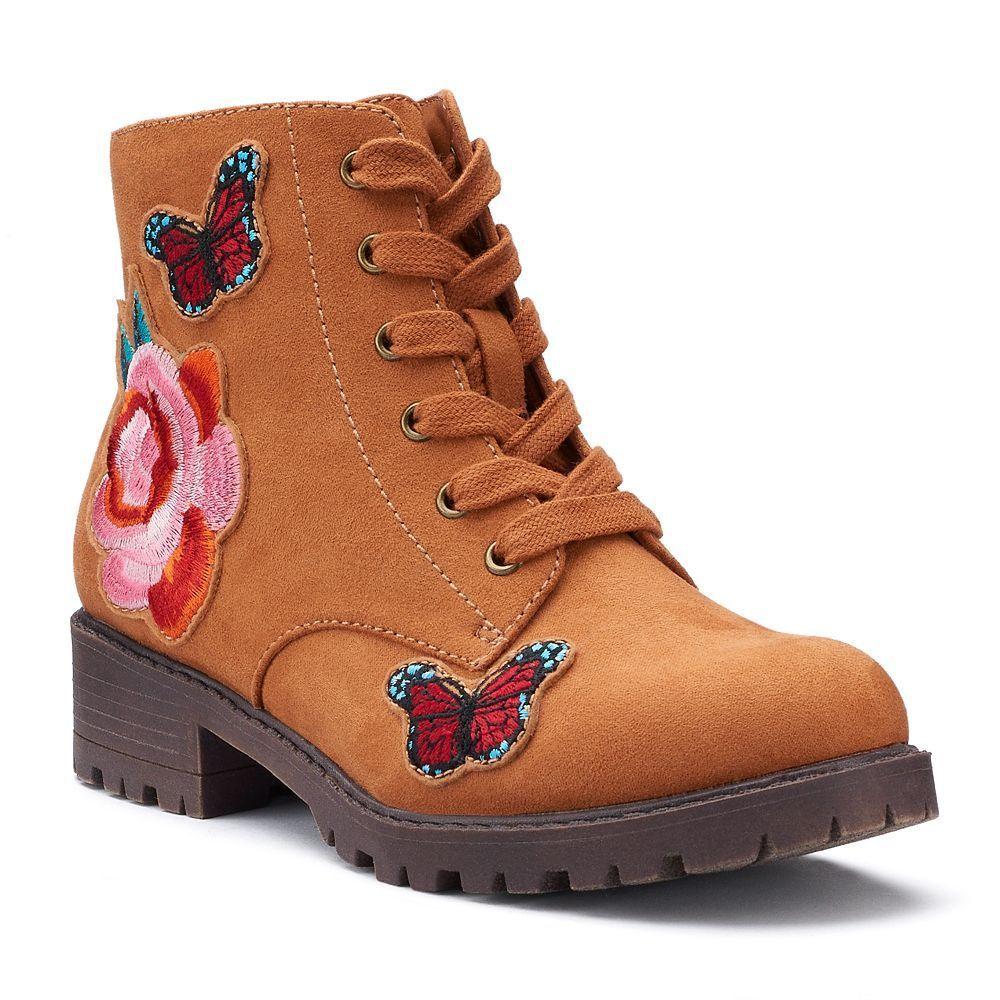 2dcd4da9e3d5 SO® Kayla Girls  Combat Boots