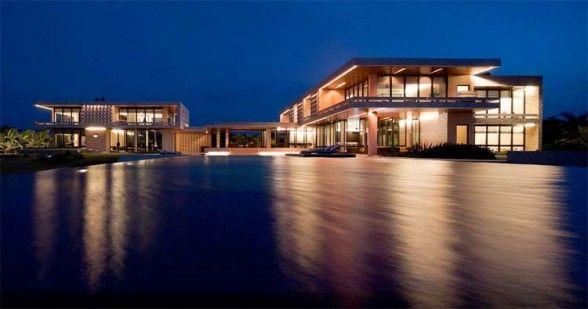 Luxury Modern Beach House In Dominican Republic Exterior