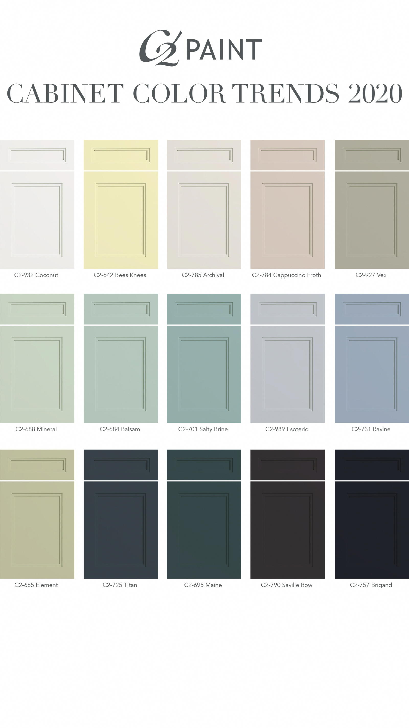 Looking For A Room Refresh Check Out Our Cabinet Color Trends For 2020 Cabine In 2020 Kitchen Colors Cabinet Colors Kitchen Cabinet Colors