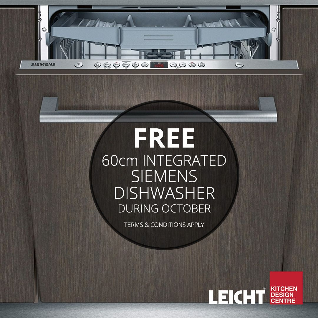 during october only, at the leicht kitchen design centre, receive