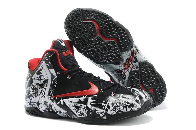 "Find Nike LeBron 11 ""Graffiti"" White/University Red-Black For Sale online  or in Pumarihanna. Shop Top Brands and the latest styles Nike LeBron 11 "" Graffiti"" ..."