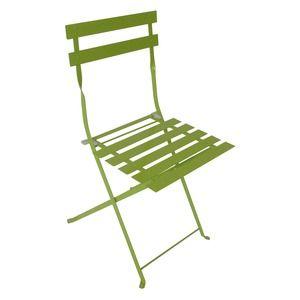 Chaise Pliante Diana En Acier 41 X 45 X H 80 Cm Vert Tilleul 17 Chaise Pliante Chaise D Exterieur Chaise Salle A Manger