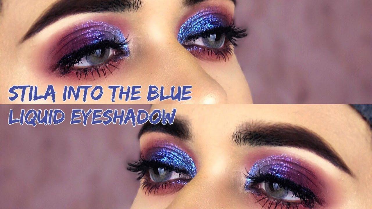 najnowszy projekt najnowszy sprzedaż uk Stila Glitter & Glow Liquid Eye Shadow in Into the Blue ...