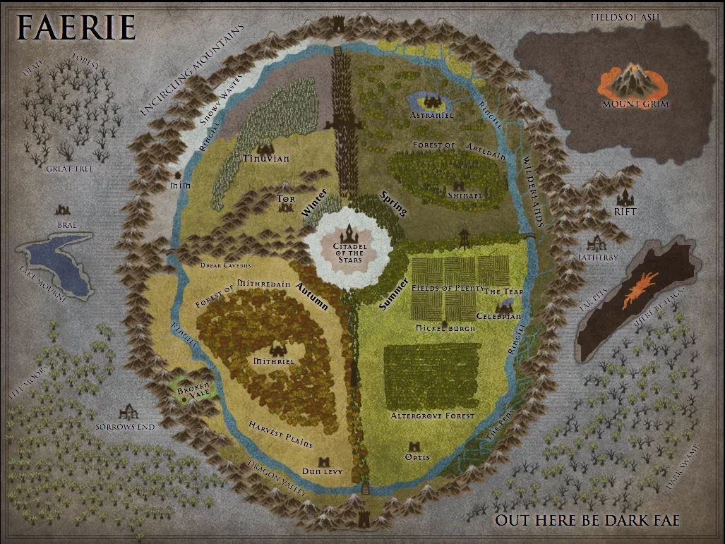 fey wild concept map by sean powell over at g map making in games - Concept Map Making