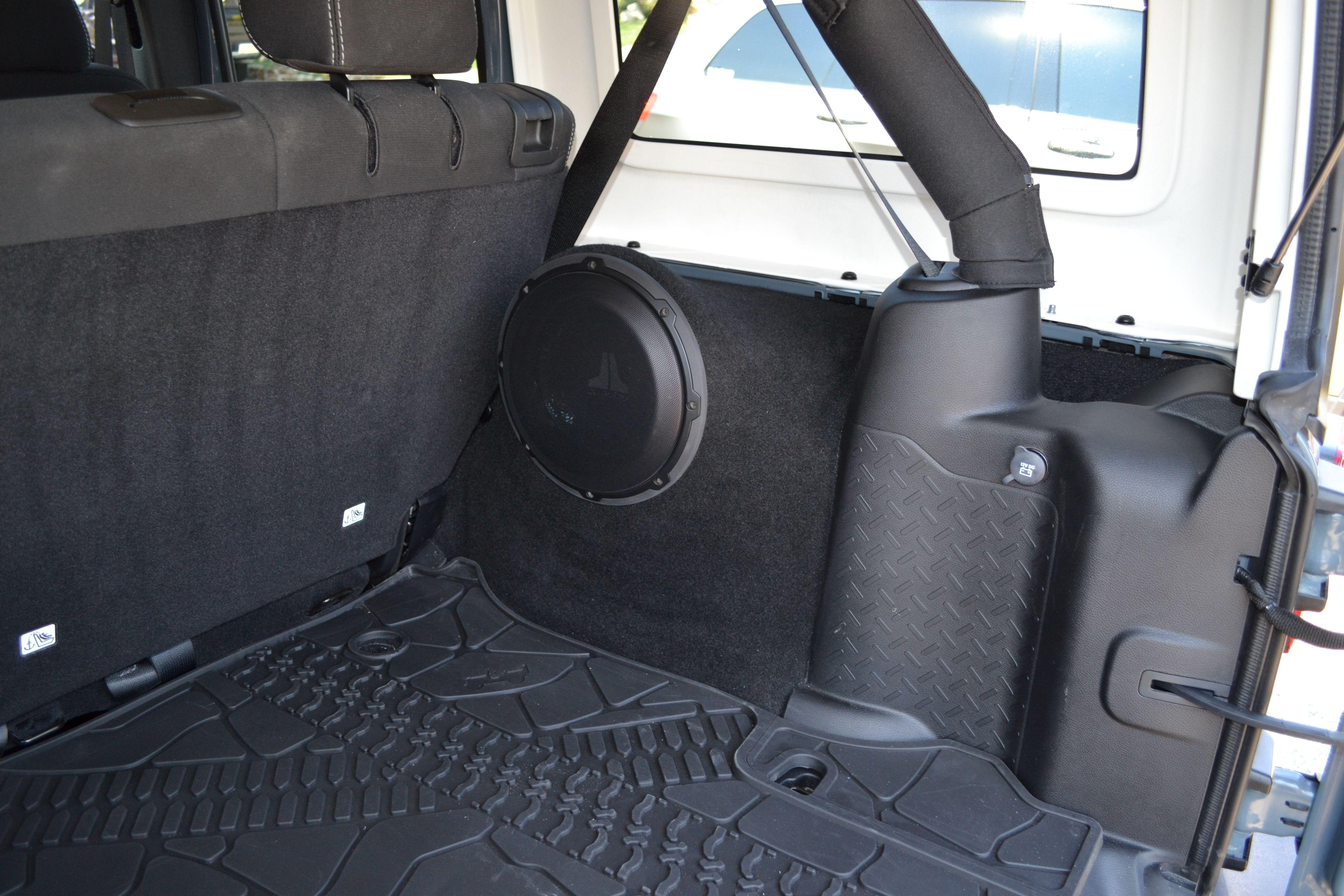 Jeep Wrangler 4 Door Subwoofer Enclosure Google Search