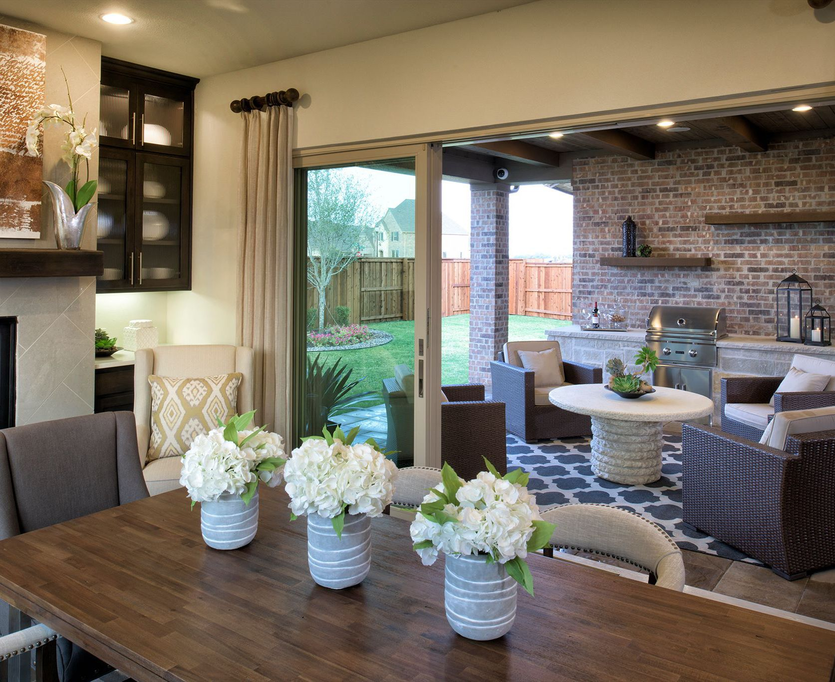 Love where you live. This home at Windsong Ranch offers ... on Seamless Indoor Outdoor Living id=49662