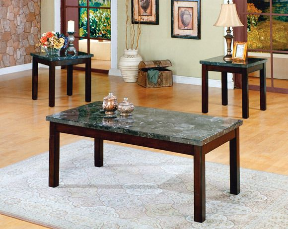 Onyx 3 Piece Table Set AFPinspiredHome My American Freight
