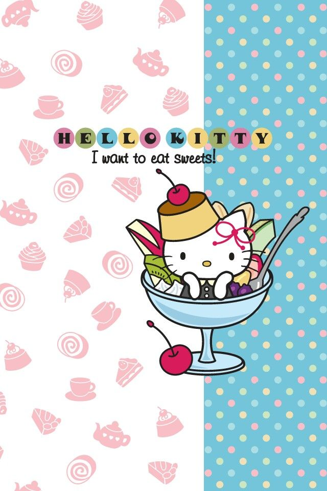 #hellokitty #sweets #phone #wallpaper