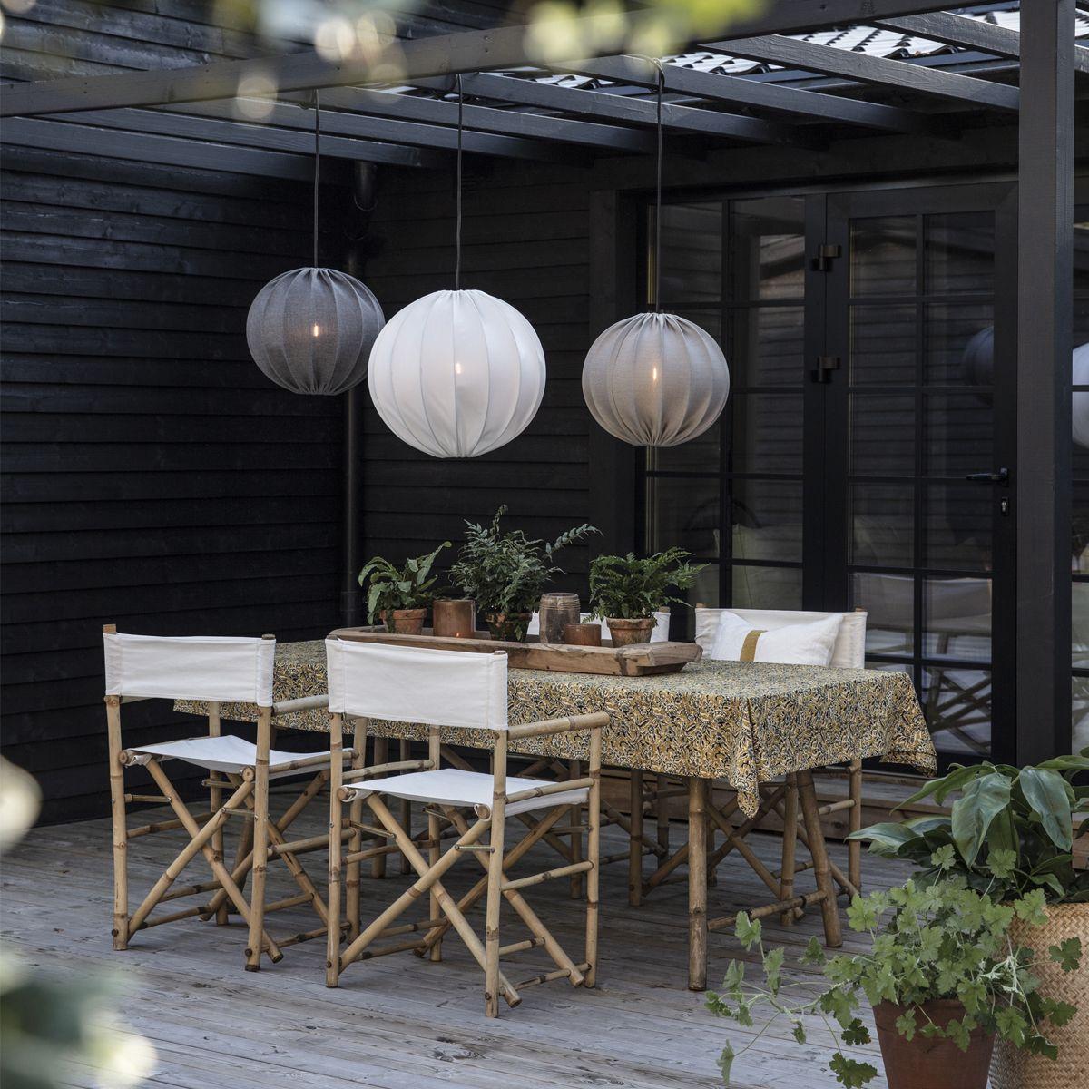 Inspiration PR Home | Uteplats, Taklampa, Utomhusbelysning