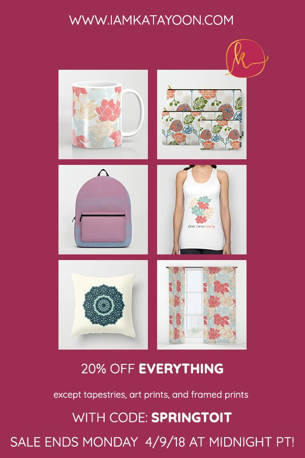 20% OFF EVERYTHING except tapestries, art prints, and framed prints ...