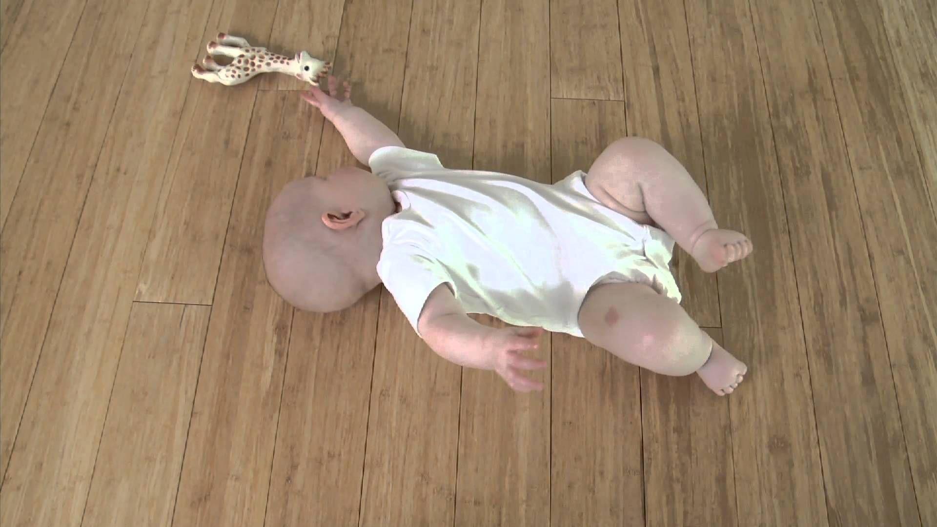 leçon de feldenkrais 1 par baby Liv rouler Motricité
