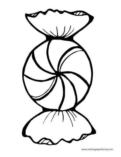Peppermint Candy Coloring Page Candy Coloring Pages Candy Drawing Candy Cane Coloring Page
