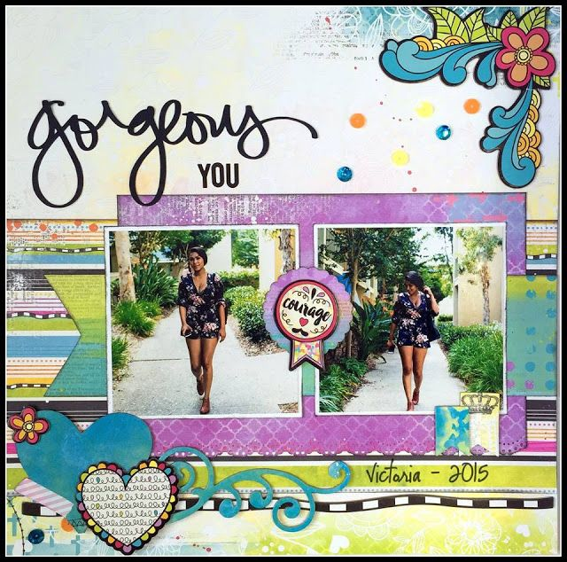 """The ScrapRoom Blog: Bo Bunny """"Believe"""" Page Kit & Layout Reveal"""