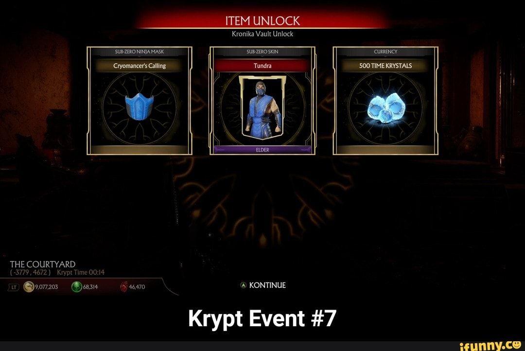 Krypt Event 7 Krypt Event 7 Ifunny Memes Science Humor Mortal Kombat Memes